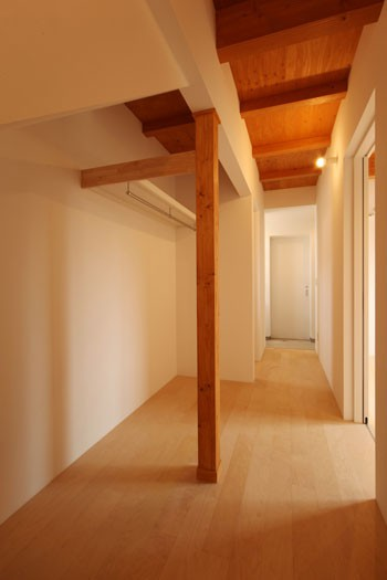 廊下と収納を一体化のイメージ
