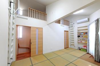 将来を見据えた子供室のイメージ