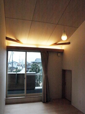 天井裏スペースも室内スペースにのイメージ