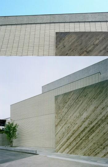重ねコンクリート壁のイメージ