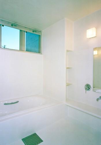 目地のない全面FRPの浴室のイメージ