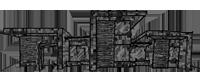 分節する家のスケッチ