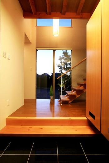 玄関から見えるみかん畑のイメージ