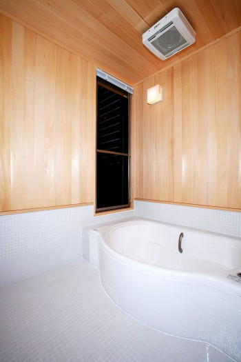在来工法の浴室のイメージ