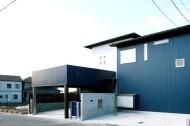 みかん畑を借景する家のイメージ1