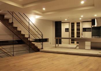 LDKと階段のイメージ
