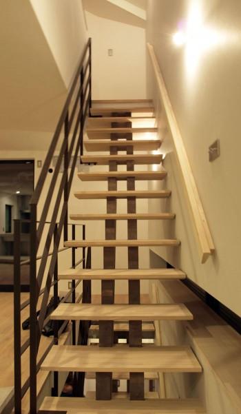 スケルトン階段のイメージ