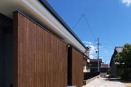 木板塀の家のイメージ1