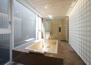 開放感のある浴室のイメージ