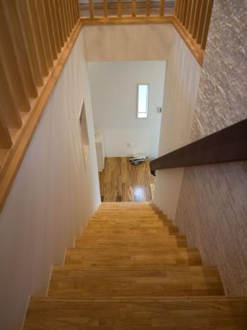 オリジナルな階段手摺のイメージ