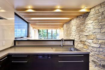 キッチンからの景色のイメージ