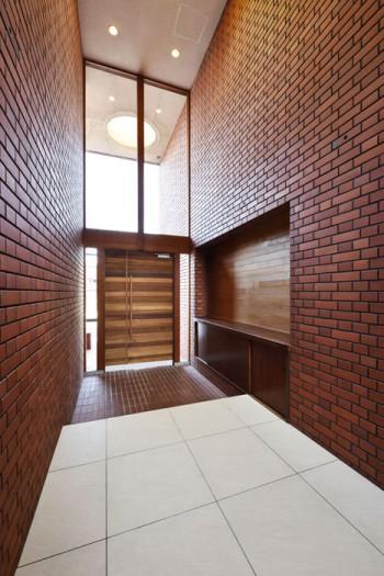 造り替えた玄関ドアのイメージ