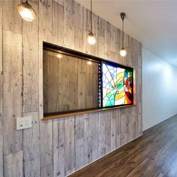 アンティーク調の家事室のイメージ